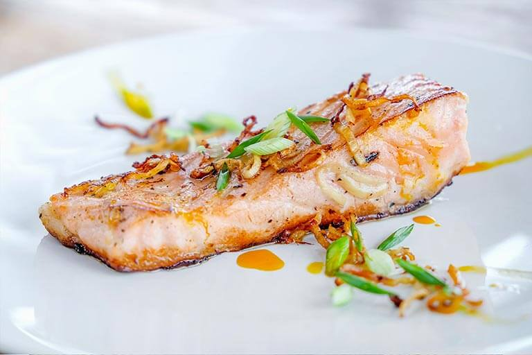 Spicy Grilled Salmon with Ginger
