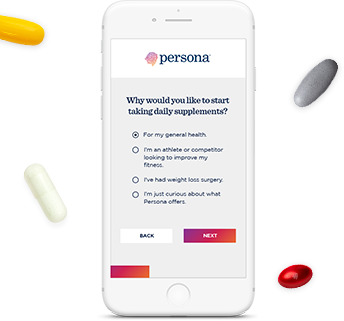 About Us   Personalized Daily Vitamin Packs   Persona