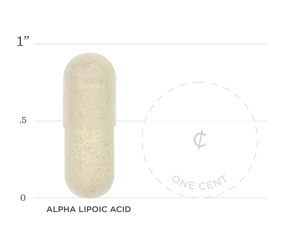 Alpha Lipoic Acid Graph