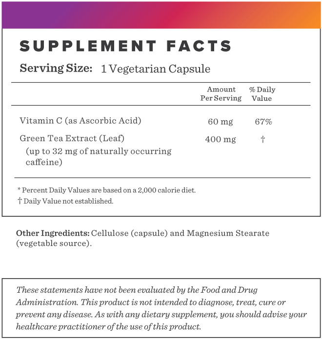 Green Tea Extract Supplement-FACTS