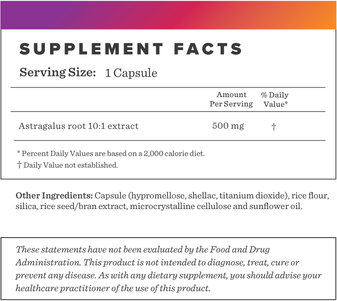 Astragalus Supplement-FACTS