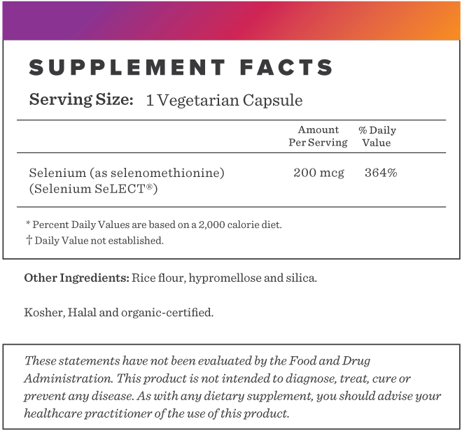 Selenium Supplement-FACTS