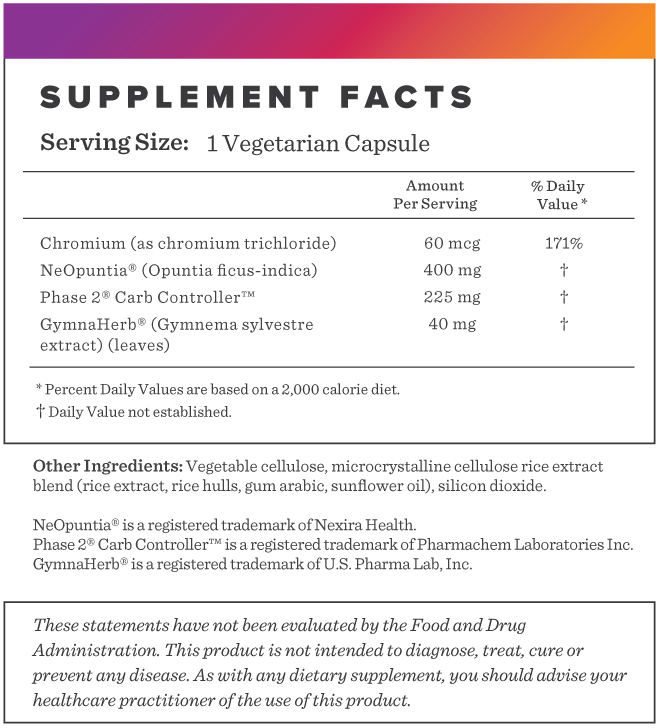 Appetite Support Supplement-FACTS