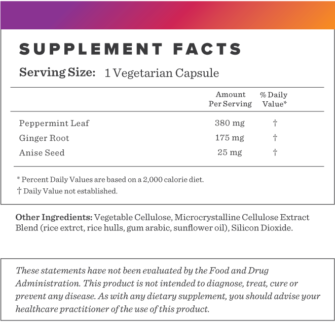 Peppermint Plus Supplement-FACTS